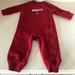 Baby Roots Athletics One-Piece Romper Size 6-9m